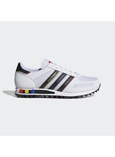 adidas Erkek La Trainer Sneakers FY1394 Beyaz